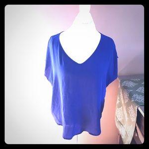 Royal Blue Lush Short Sleeve Top Nordstrom Rack